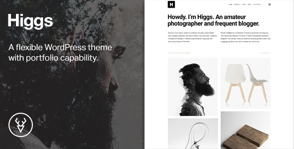 ThemeForest Higgs A Minimal WordPress Portfolio & Blog Theme 11063018