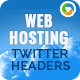 Web Hosting Twitter Headers - 3 Designs - GraphicRiver Item for Sale