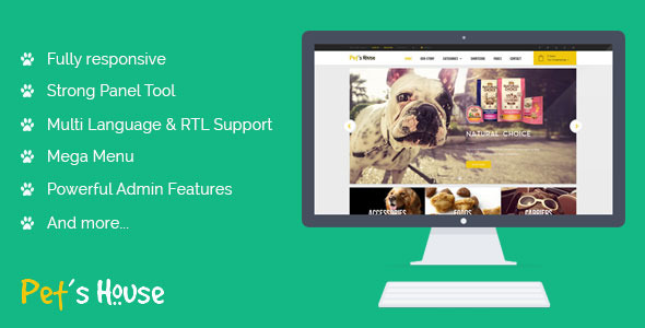 ThemeForest Leo Pet s House Prestashop Theme 11360884