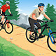 People Riding Mountain Bikes - GraphicRiver Item for Sale