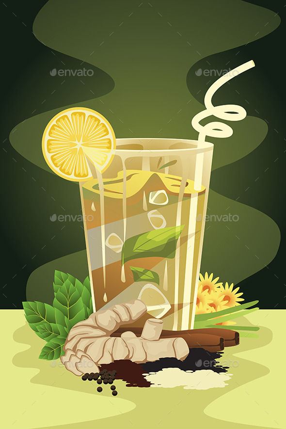 GraphicRiver Herbal Drink 11361024
