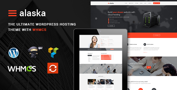 Alaska - SEO WHMCS Hosting, Shop, Business Theme - Hosting Technology