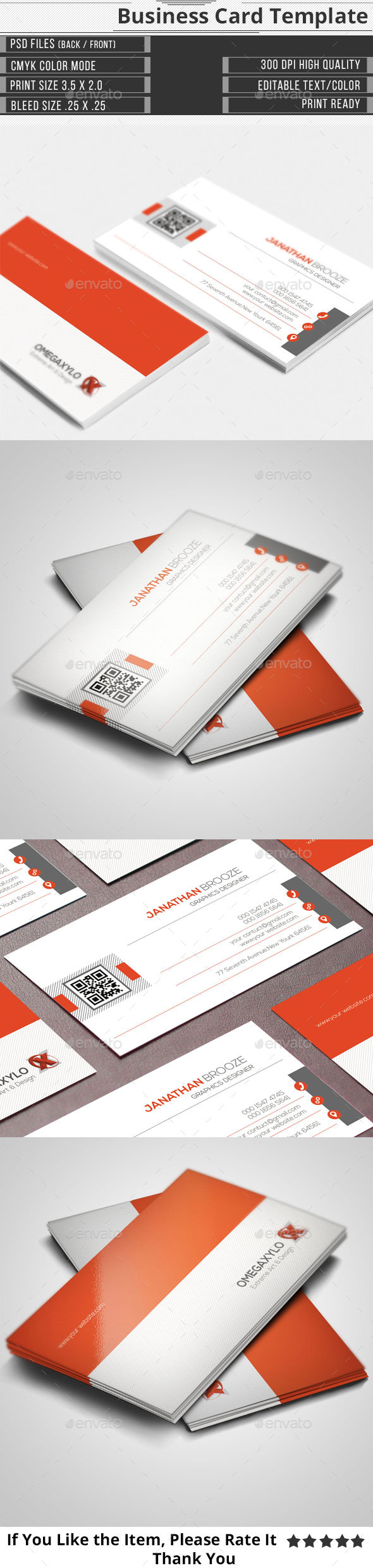 GraphicRiver Corporate Business Card 11361071