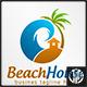 Beach House Logo - GraphicRiver Item for Sale