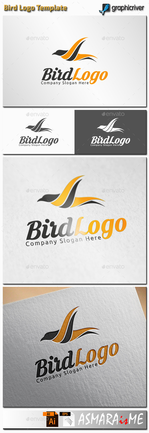 GraphicRiver Bird Logo 11361132