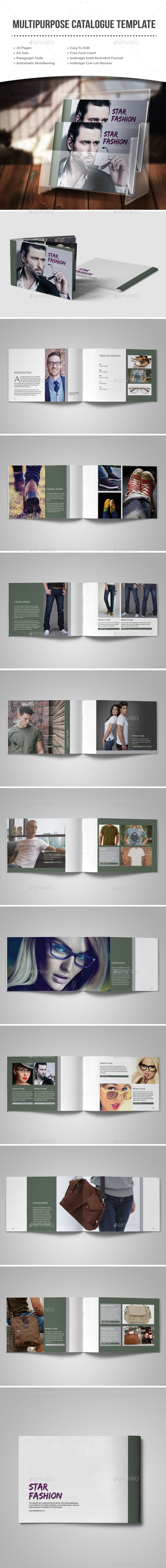 GraphicRiver Multipurpose Catalogue Template 11361244