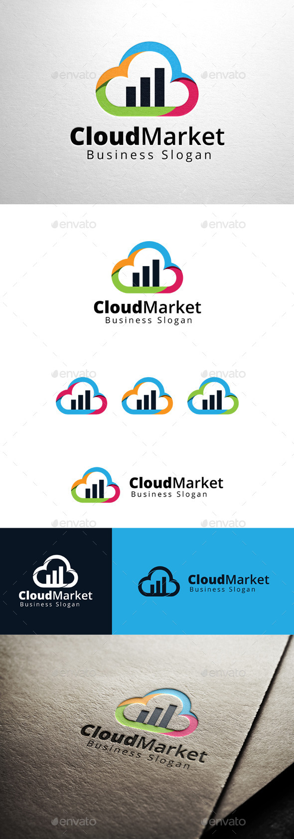 GraphicRiver Cloud Market Logo 11361332