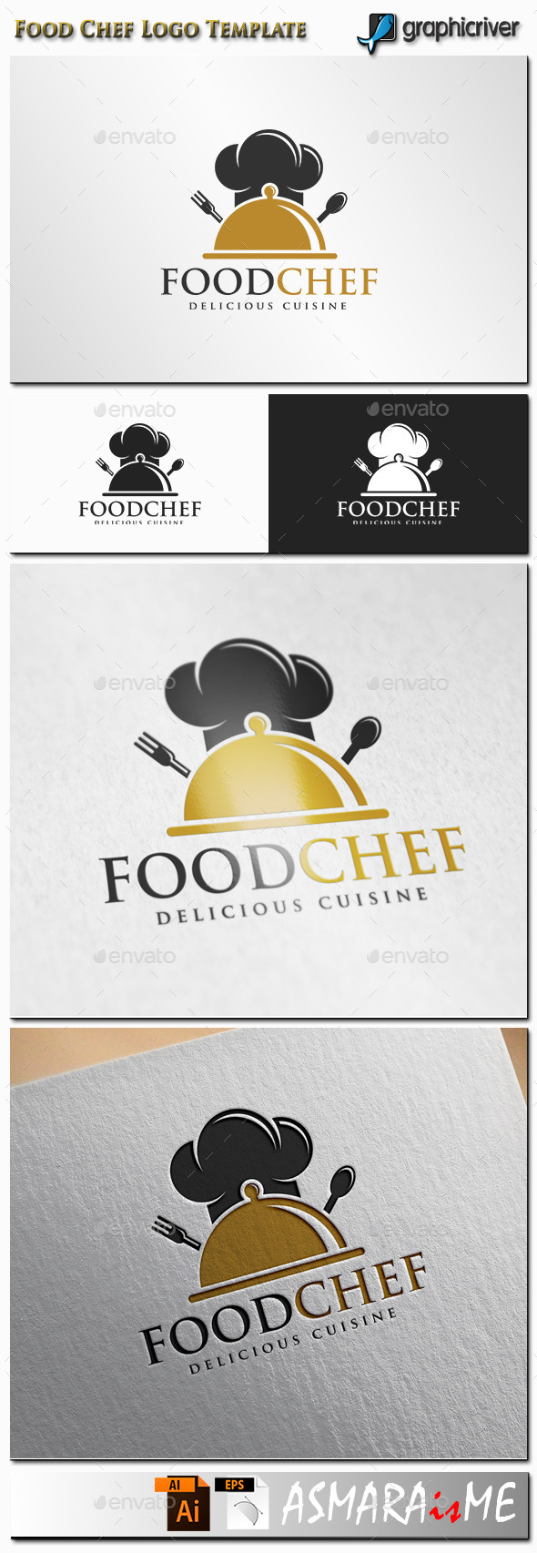 GraphicRiver Food Chef Logo 11361336