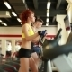 Young People Exercising On Treadmills In Gym - VideoHive Item for Sale