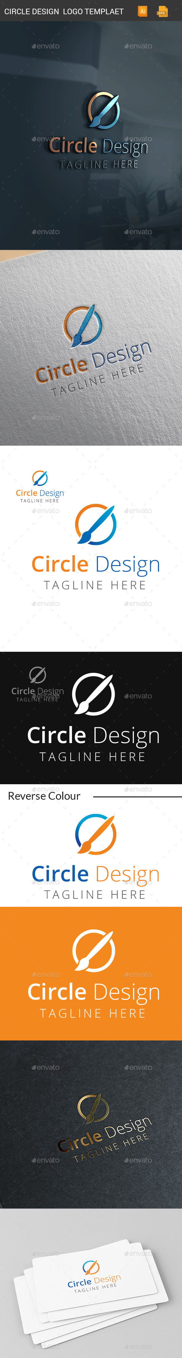 GraphicRiver Circle Design Logo Templates 11361745