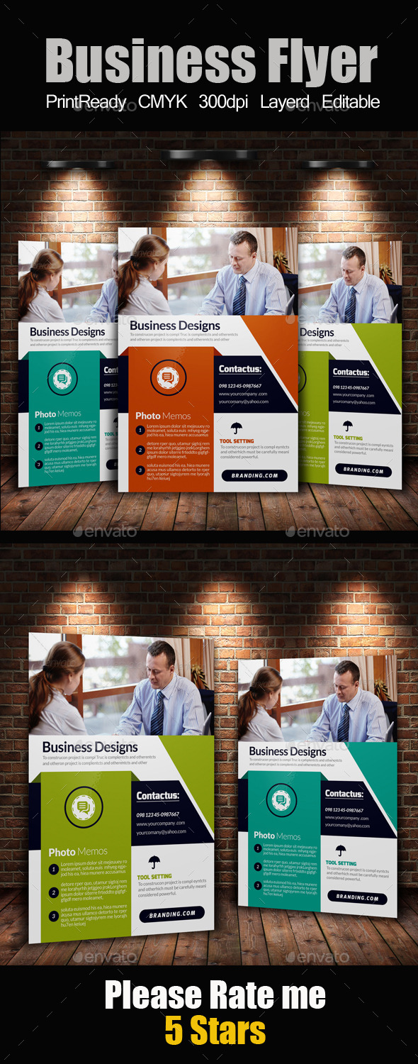 GraphicRiver A4 Business Flyer Template 11362196