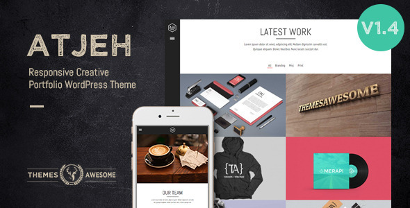 Download Atjeh - Responsive Creative Portfolio nulled download