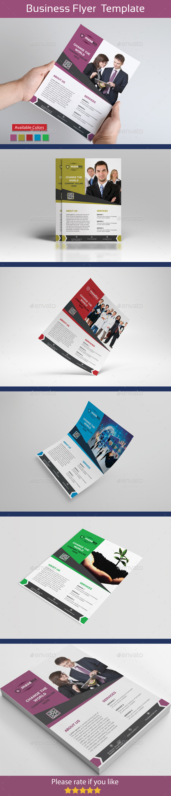 GraphicRiver The First Corporate Flyer 11362369