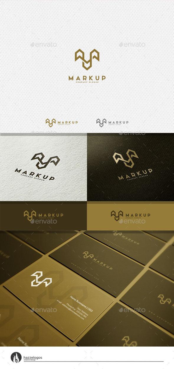 GraphicRiver Markup Logo 11362374