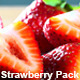 Three Pack Red Ripe Stawberries - VideoHive Item for Sale