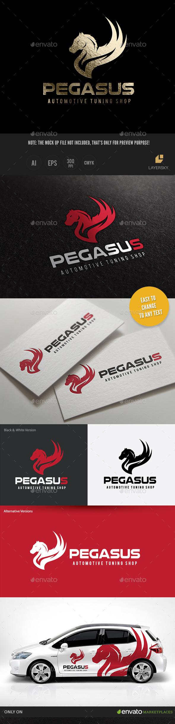 GraphicRiver Pegasus 11362699