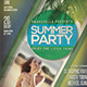 Summer Event Flyer / Poster - GraphicRiver Item for Sale