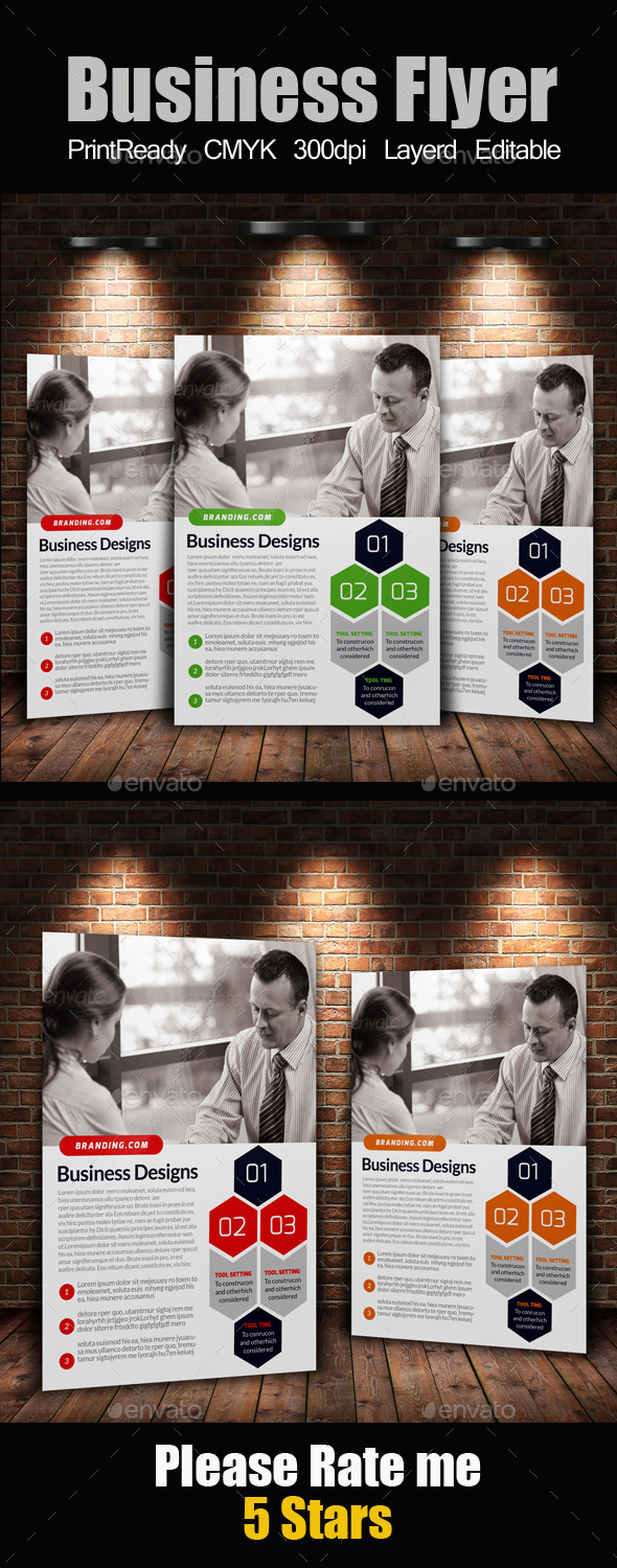 GraphicRiver A4 Business Flyer Template 11362738