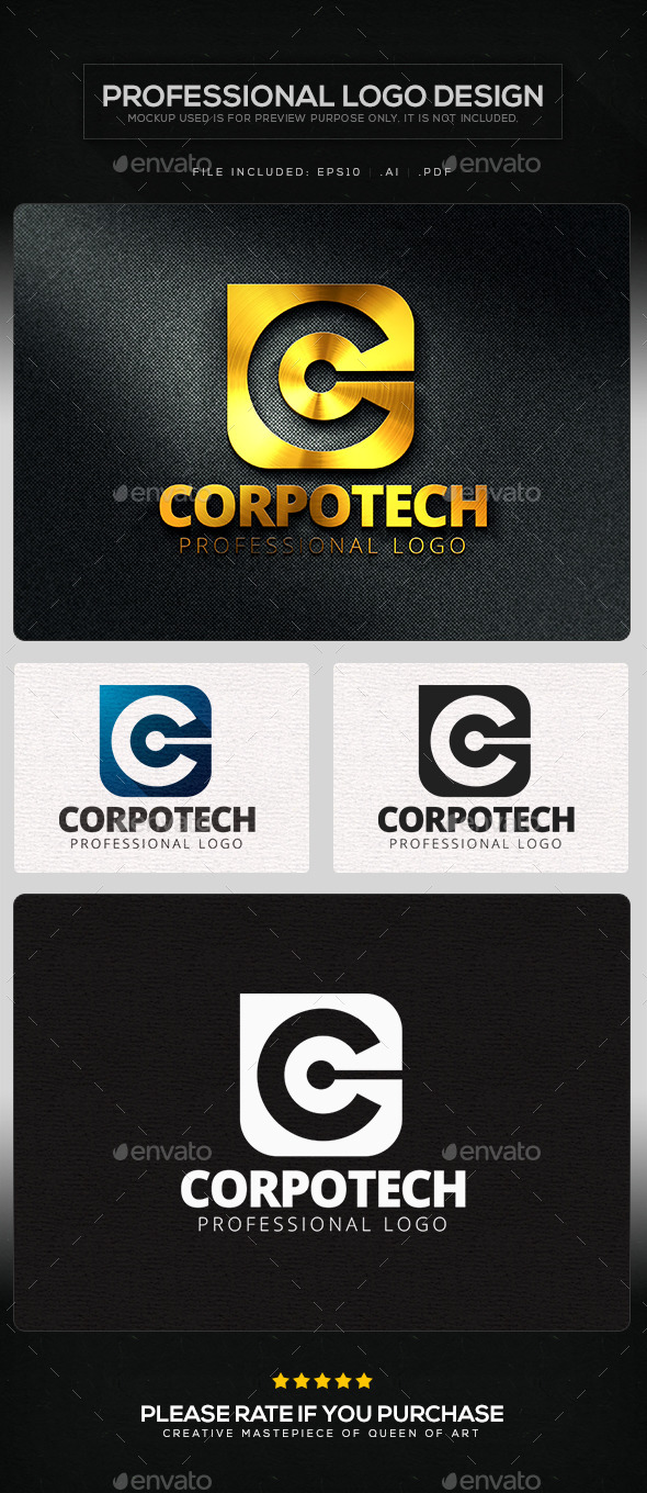 GraphicRiver Corpo Tech Logo Template 11362810