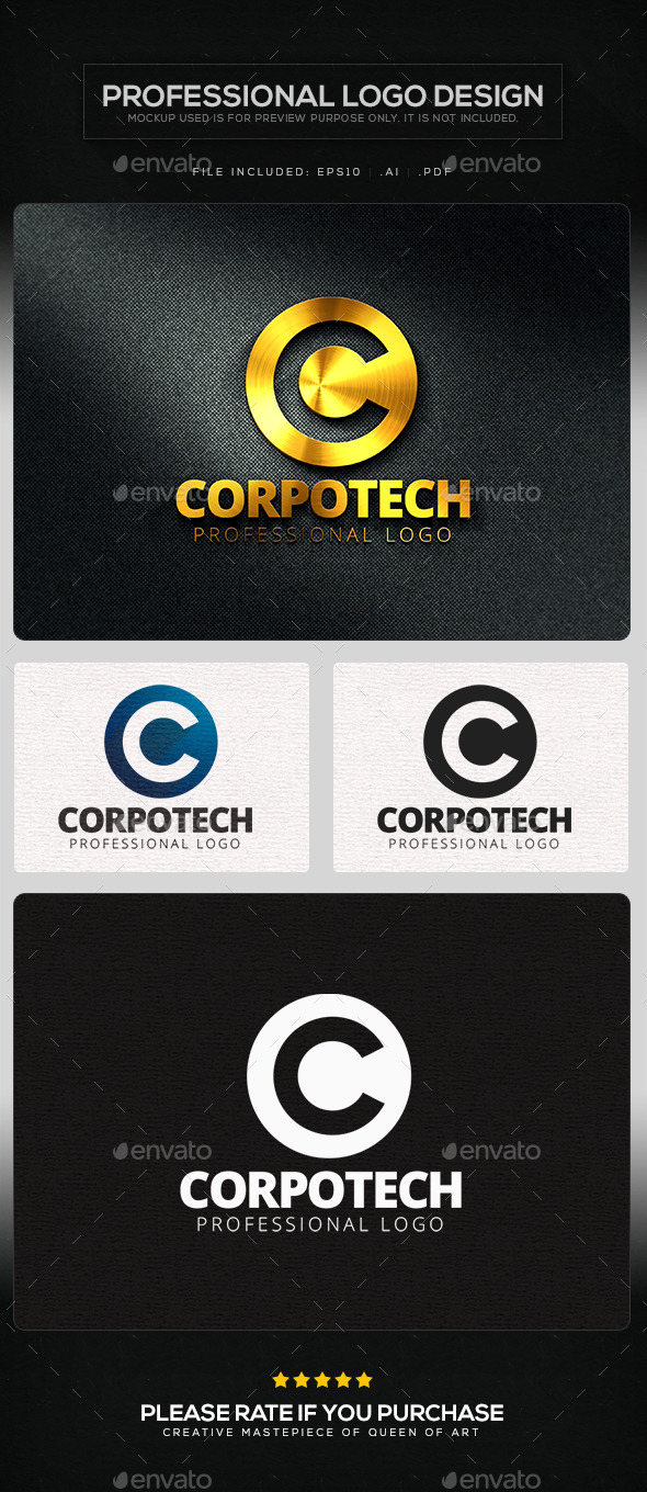 GraphicRiver Corpo Tech Logo Template 11362838