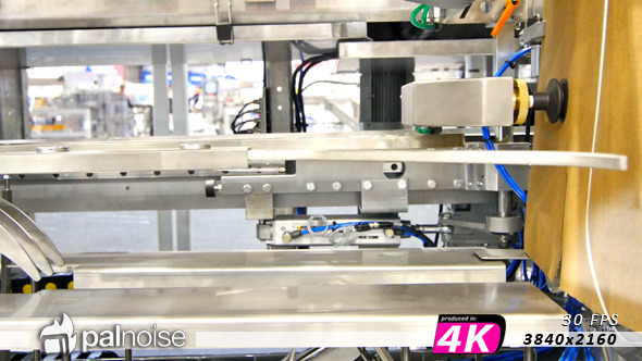 VideoHive Factory Pressing Sucker Robot 11363081