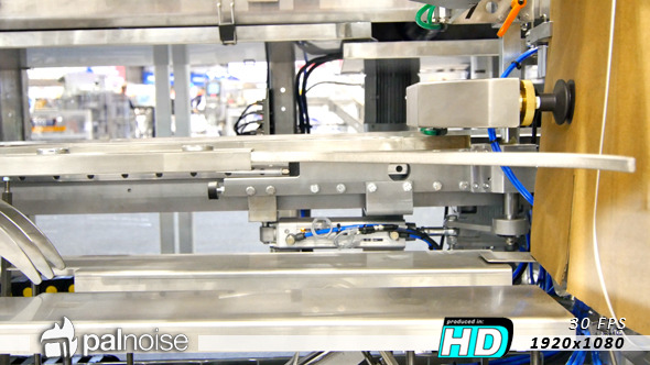 VideoHive Factory Pressing Sucker Robot 11363125