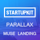Startupkit - Responsive Parallax Muse Template - ThemeForest Item for Sale