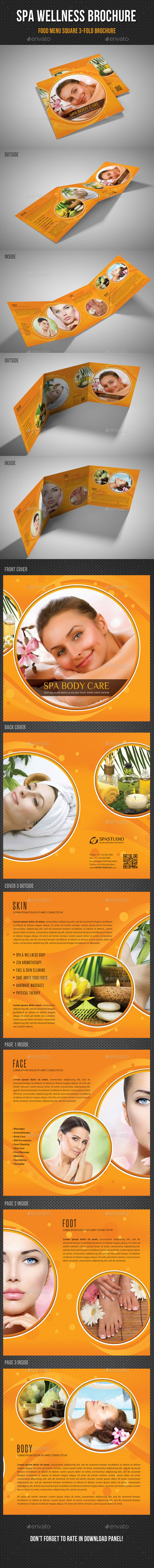 GraphicRiver Spa Wellness Square 3-Fold Brochure 02 11363316