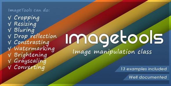 CodeCanyon ImageTools Image Manipulation Class 78789