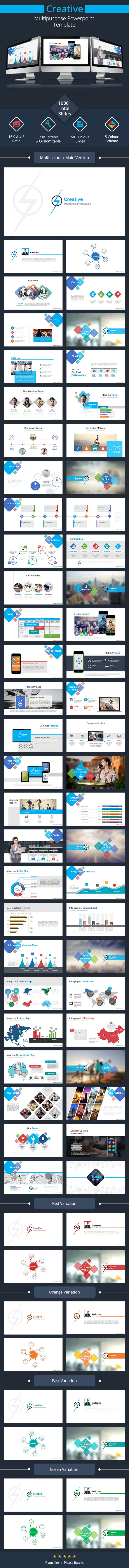 GraphicRiver Creative Powerpoint Presentation 11363369
