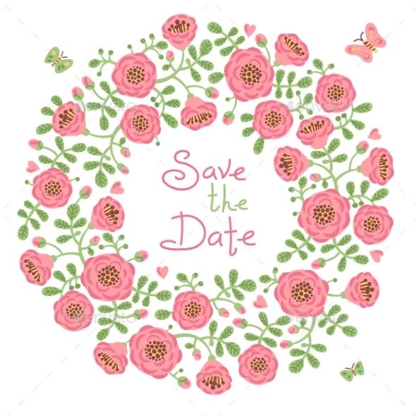 GraphicRiver Save the Date Invitation 11363427