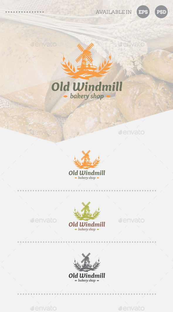 GraphicRiver Bakery Shop Logo Template 11363599