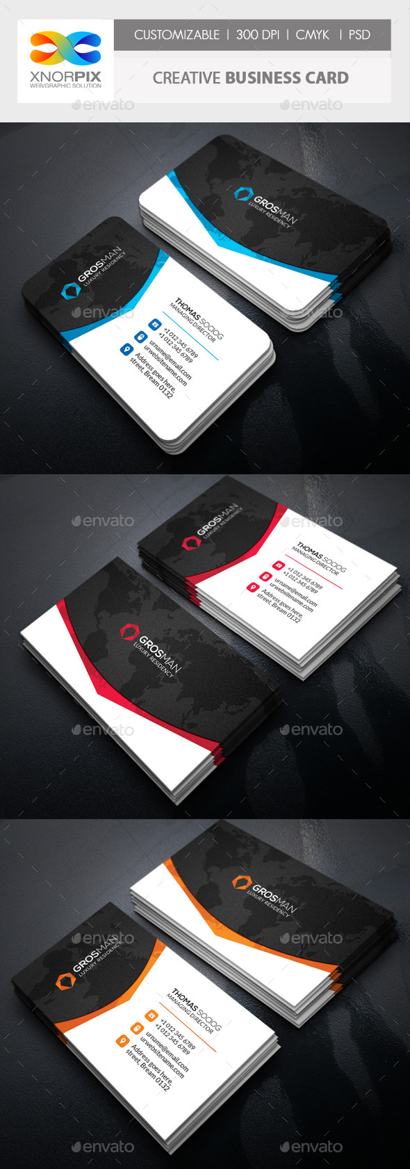 GraphicRiver Creative Business Card 11363645