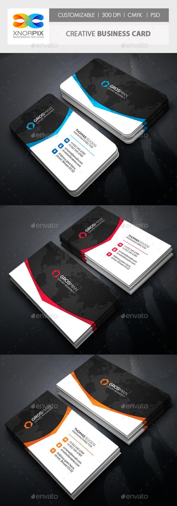 GraphicRiver Creative Business Card 11363645