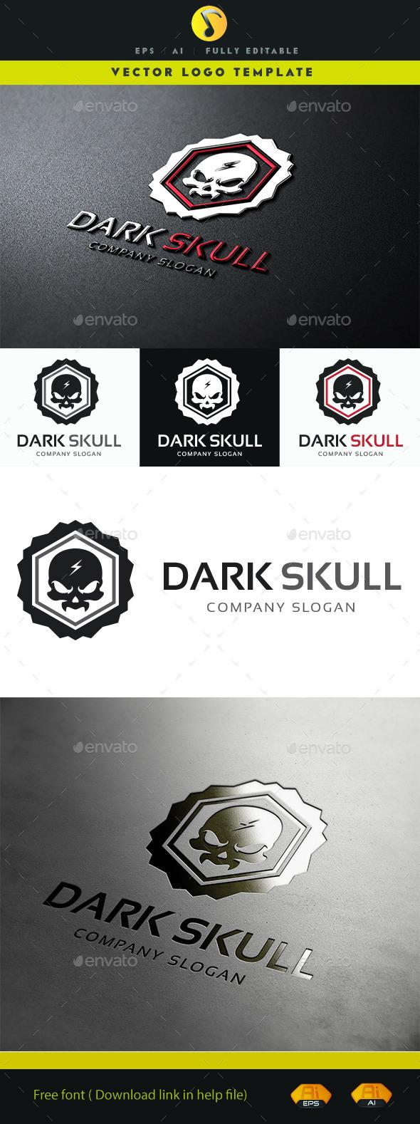 GraphicRiver Dark Skull V.2 11363678