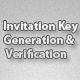 Invitation Key Generation & Verification