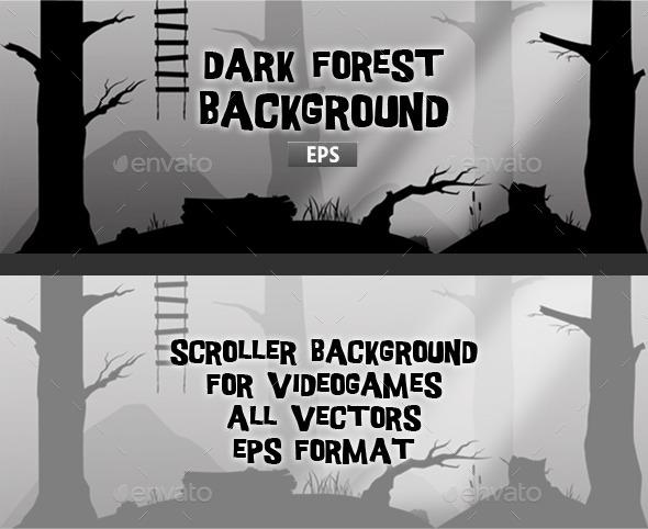 GraphicRiver Dark Forest 11363878