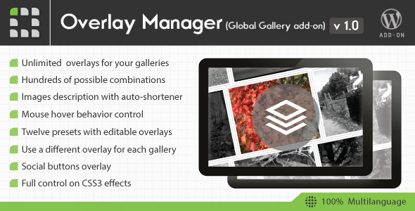 CodeCanyon Global Gallery Overlay Manager add-on 11363900