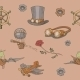 Seamless Steampunk Pattern - GraphicRiver Item for Sale