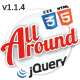 All Around - Responsive jQuery Content Slider / Carousel<hr/> Creative and Fun Sliding Plugin&#8221; height=&#8221;80&#8243; width=&#8221;80&#8243;> </a></div><div class=