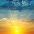 beautiful sunrise and cloudy sky - PhotoDune Item for Sale