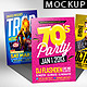 Flyer Poster Mockups V5 - GraphicRiver Item for Sale