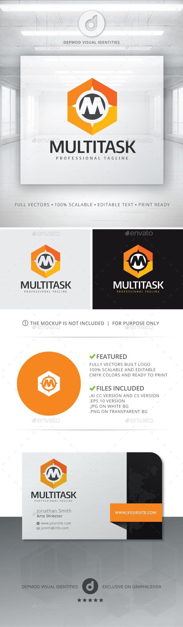 GraphicRiver Multi Task Logo 11364598