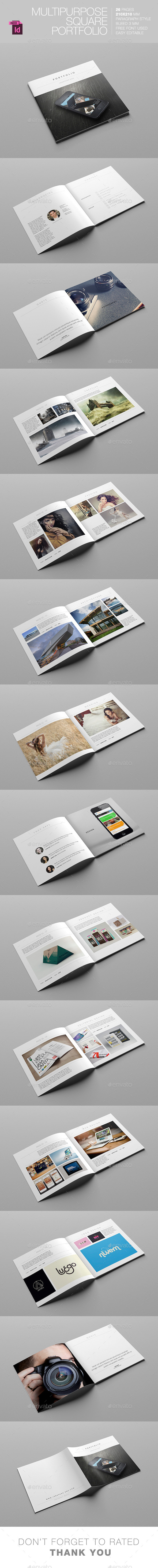 GraphicRiver Multipurpose Square Portfolio 11305632
