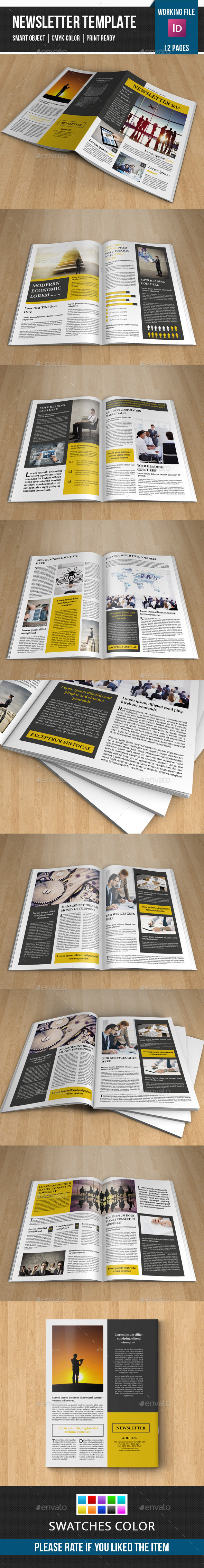 GraphicRiver Corporate Newsletter-V06 11365982