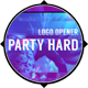 Party Hard - Glitch Logo Opener - VideoHive Item for Sale