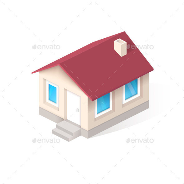 GraphicRiver House Isometric Icon 11366622