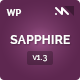 Sapphire - One Page Wordpress Template - ThemeForest Item for Sale