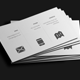 Flat Minimal Business Card V2 - GraphicRiver Item for Sale