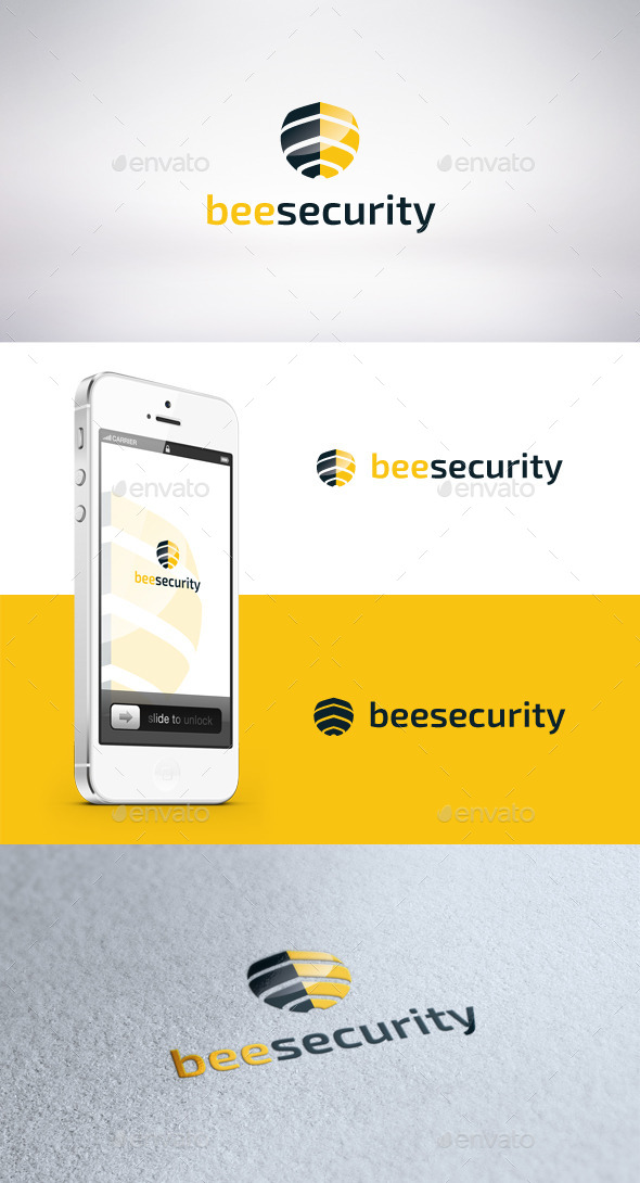 GraphicRiver Bee Security Logo Template 11367312
